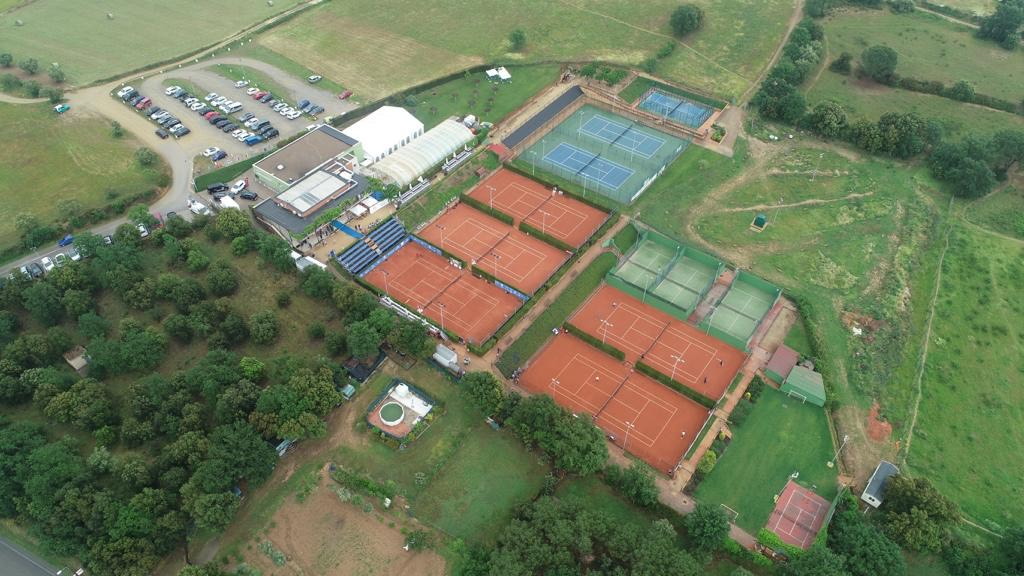 Imatge aèrea Club Tennis La Bisbal