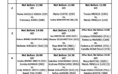 ITF Quadre Jugadores 10 maig